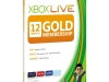 Xbox LIVE Gold 12-Month Membership Card