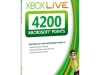 Xbox LIVE 4200 Microsoft Points