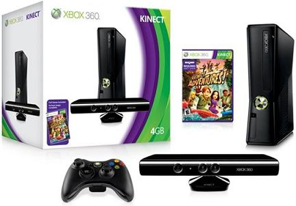 X360 Slim 4G with Kinect