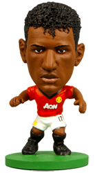 Nani Soccerstarz Football Figurine